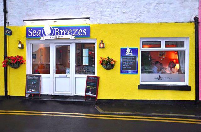 Sea Breezes Restaurant, portree, isle of skye