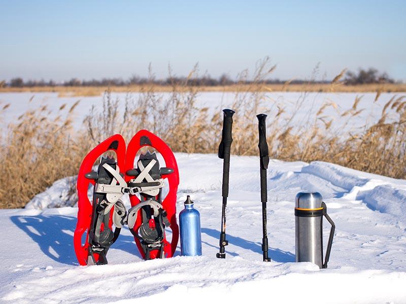 winter hiking foods